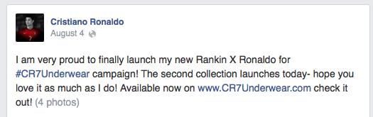 cr7 facebook