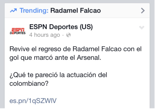 falcao trending