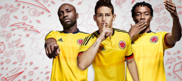 c4658224e Colombia s National Soccer Team Reveals New Uniforms via Social Media